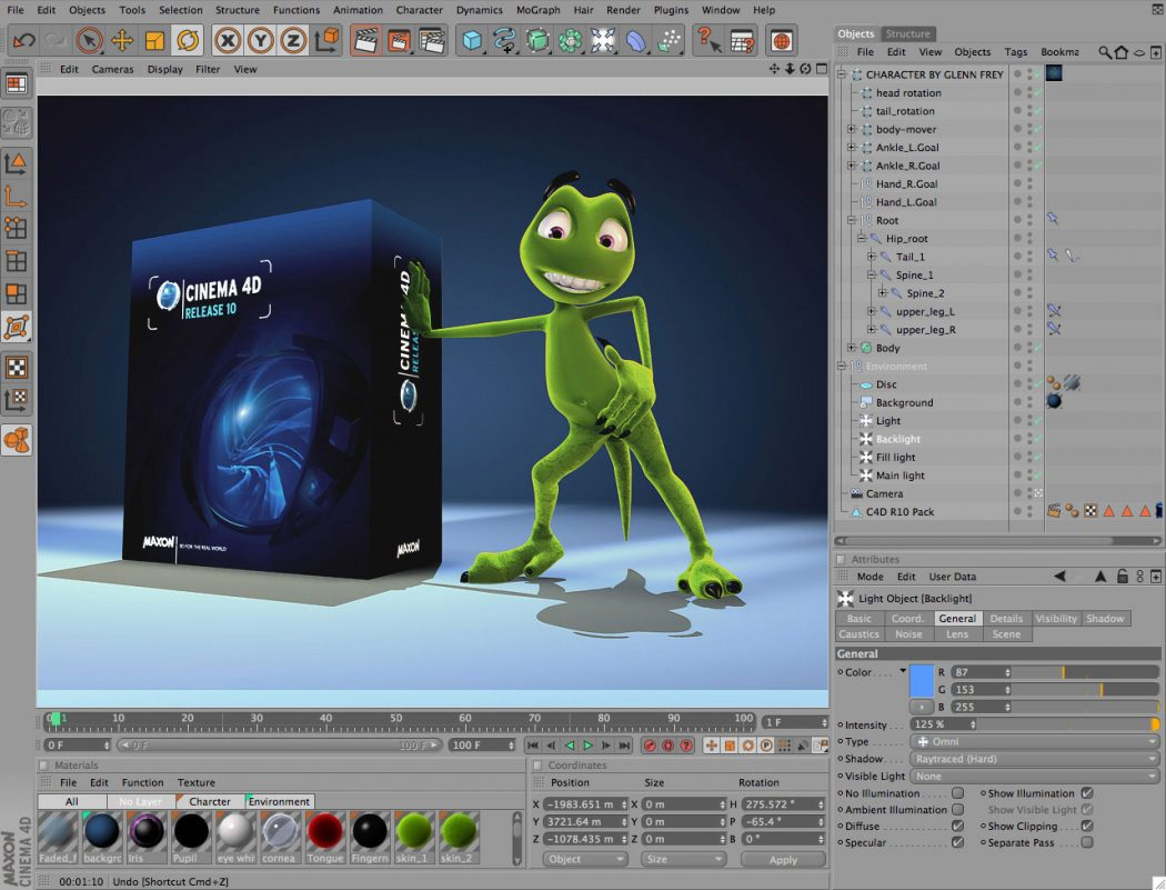 cinema-4d Top 15 3D Design Software