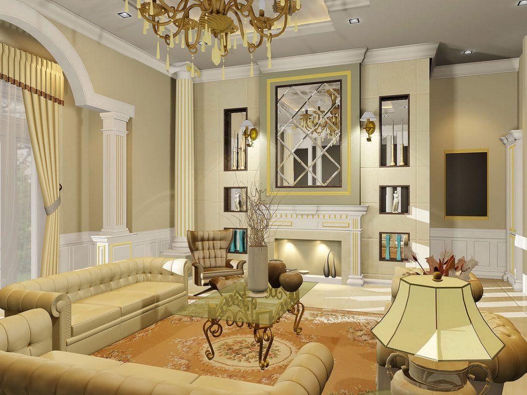 classic-living-room-interior-design Most Popular Badcock Furniture