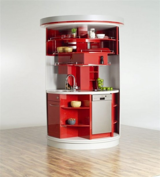 """compact-concepts-small-kitchen-554x616 The Problem Of Your Small Kitchen Solved By the """" Compact """" Design"""