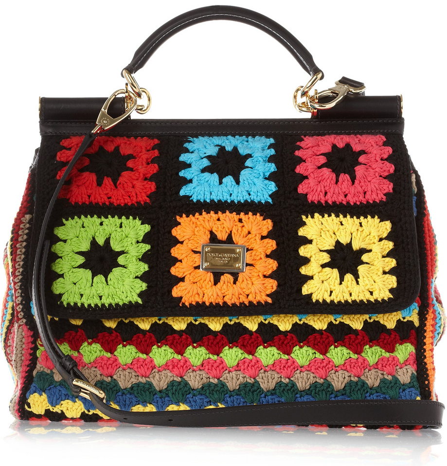 crochet-mixed-media 20+ Most Stylish Celebrity Bags