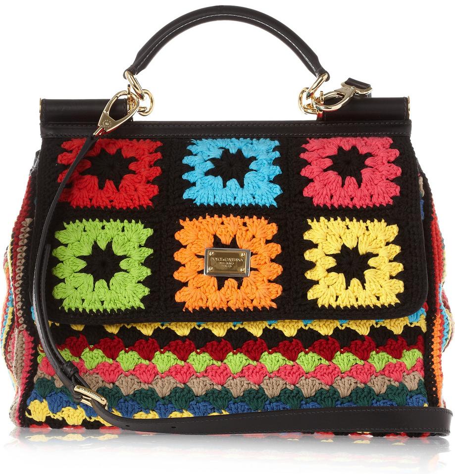 crochet-mixed-media 20+ Most Stylish Celebrity Bags