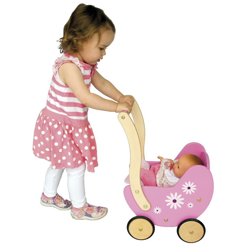 daisy-wooden-dolls-pram_1 15 Creative giveaways ideas for kids