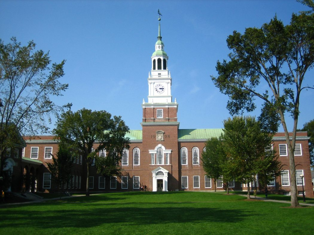 dartmouth-green-ve30nu TOP 10 Most Expensive Colleges in The World