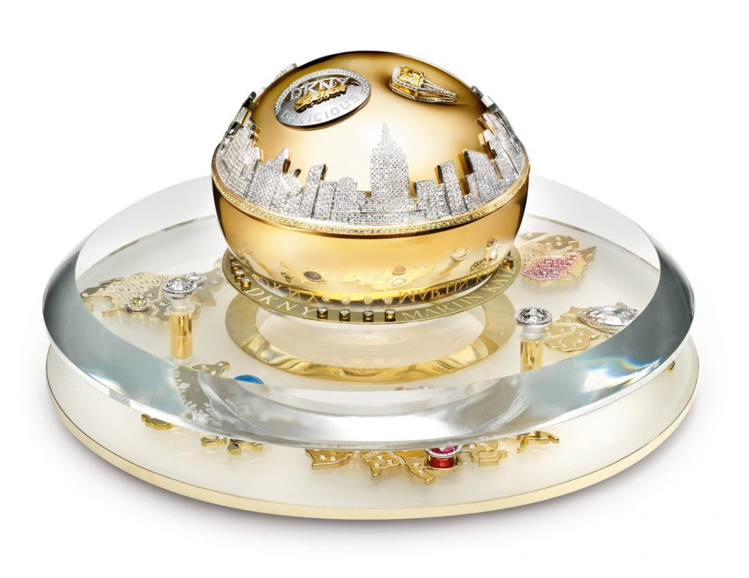 dkny-2011-golden-delicious-million-dollar-bottle-set-hi-res1 Top 10 Most Expensive Things on Earth
