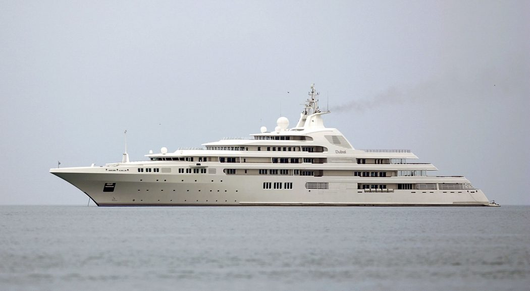 dubai. 15 Most luxurious Yachts in The World