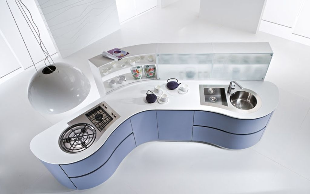 dunemodern-and-futuristic-kitchen-ideas-from-pedini-1 Top 25 Futuristic Kitchen Designs