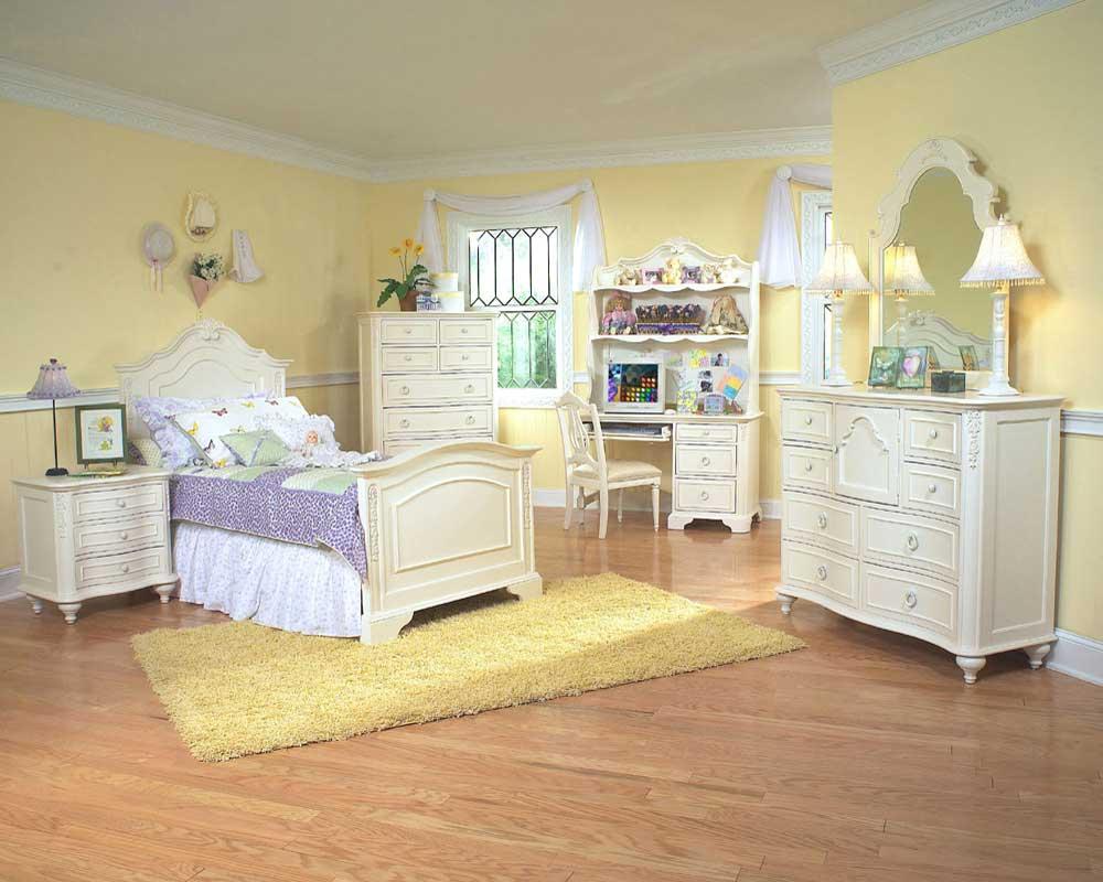 elegant-white-wooden-furniture-design Most Popular Badcock Furniture