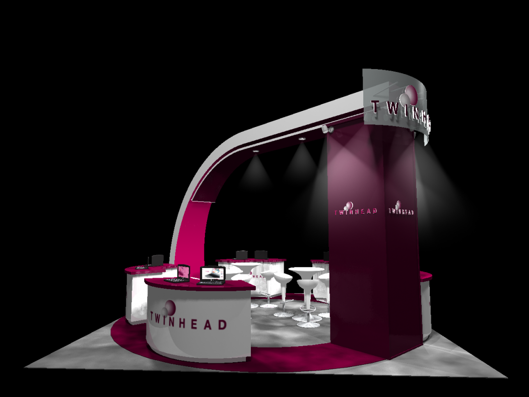 Marketing Exhibition Stand Mixer : Visual marketing and business promotion through exhibition