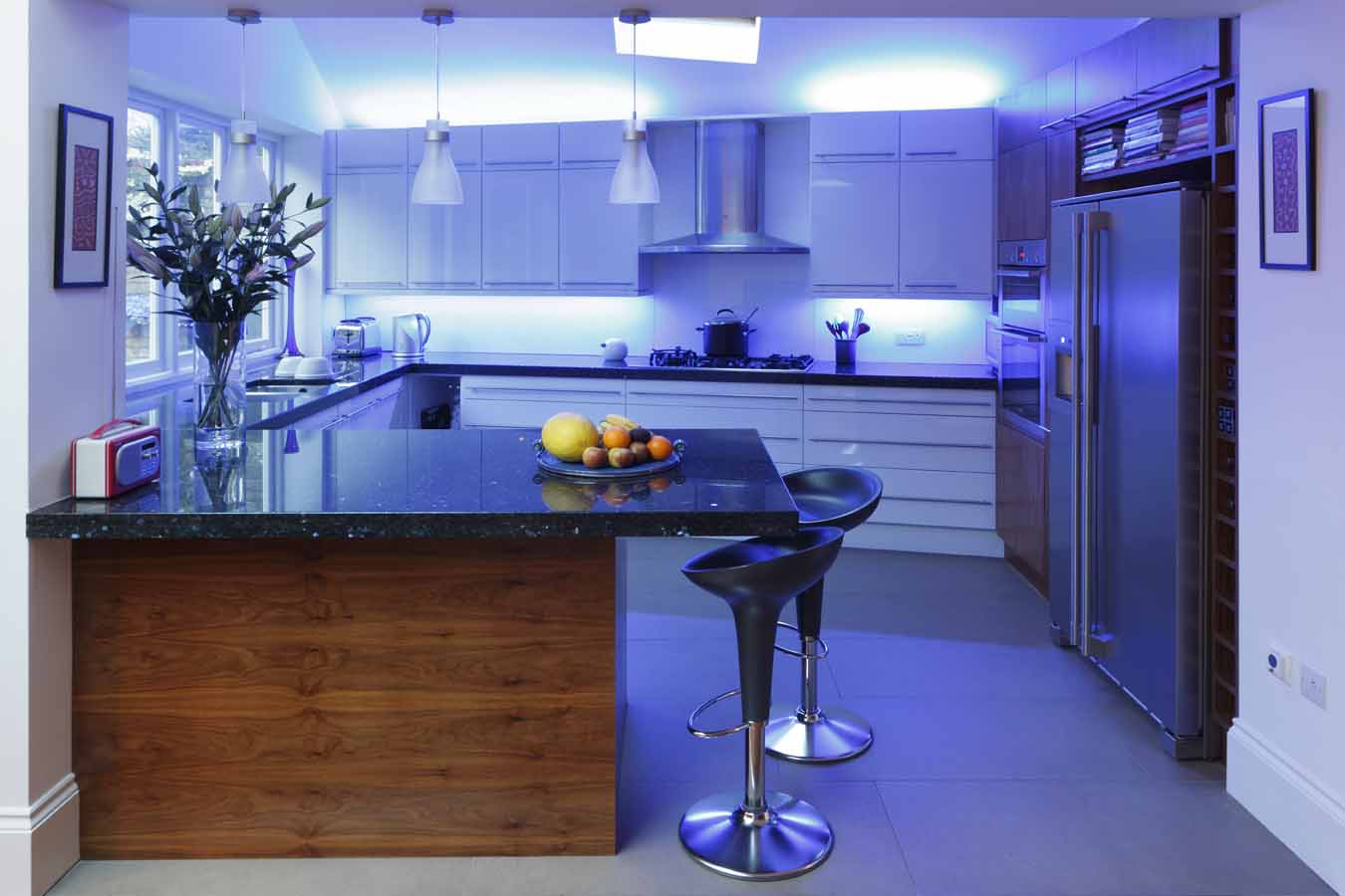 f98dd__Extraordinary-Small-Kitchen-With-Blue-LED-Lighting LEDs 10 uses in Architecture