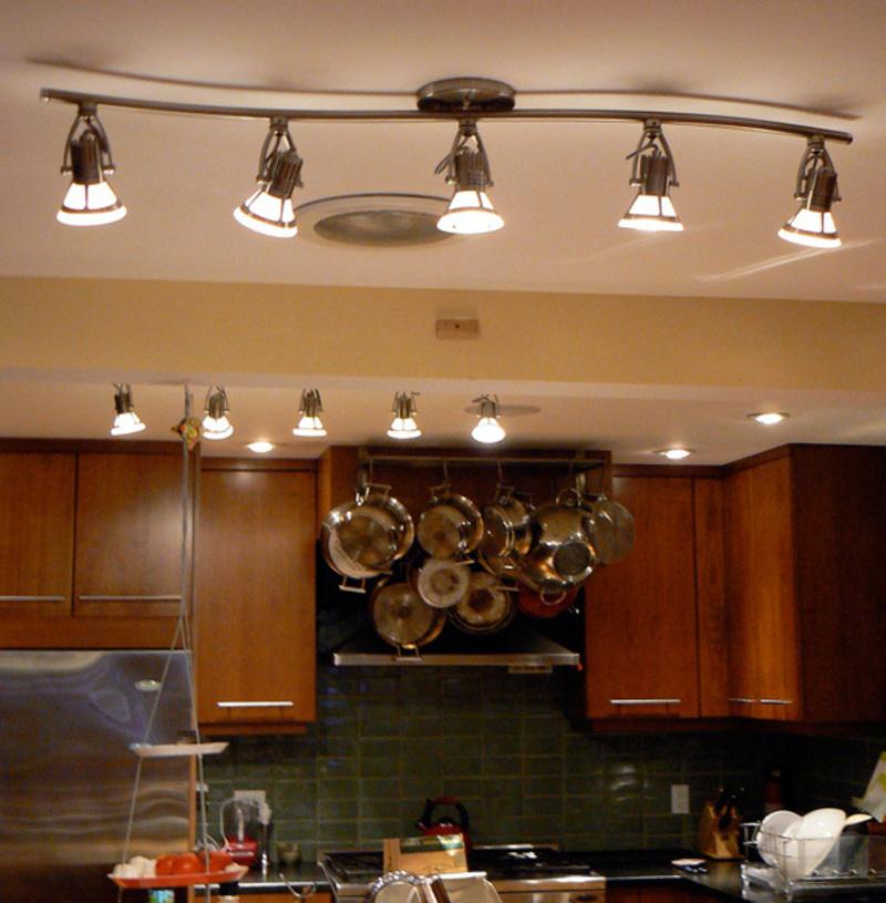 fancy-led-lighting-kitchen The Best Designs Of Kitchen Lighting