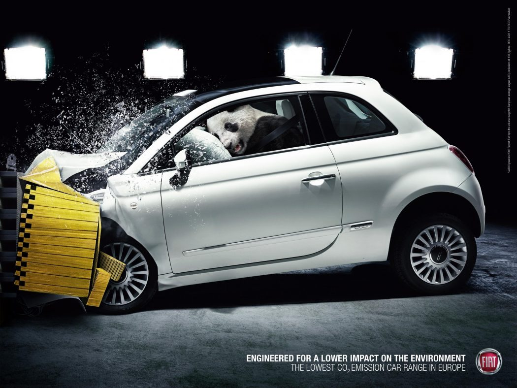 fiat_panda 40 Most Creative and Dazzling Auto Ads