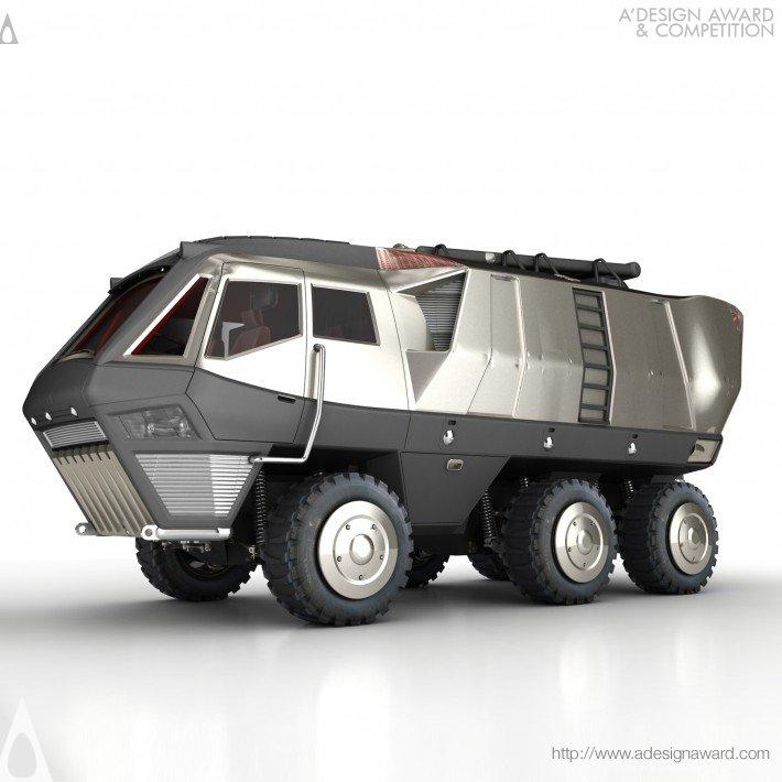 fireknight 15 Futuristic Emergency Auto Design Ideas