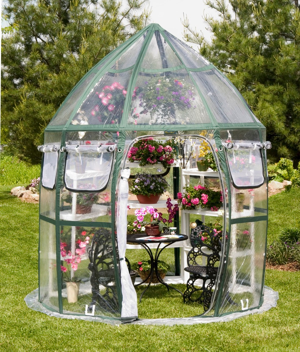 flowerhouse-conservatory 10 Fascinating and Unique Ideas for Portable Gardens