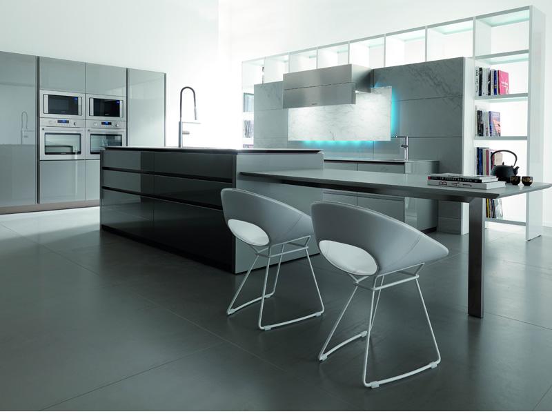 futuristic-kitchen-design-toncelli-1 Top 25 Futuristic Kitchen Designs
