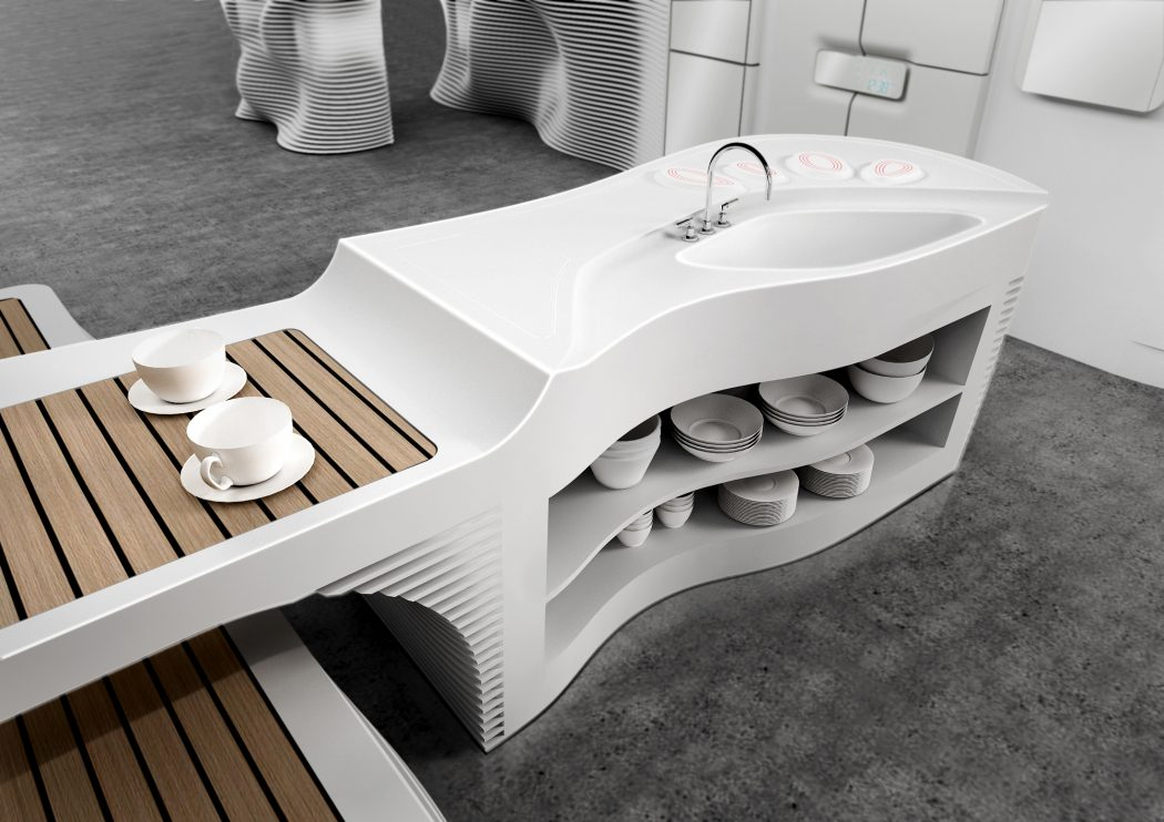 hi-macs_lg_hausys_superstudio_milan_061 Top 25 Futuristic Kitchen Designs