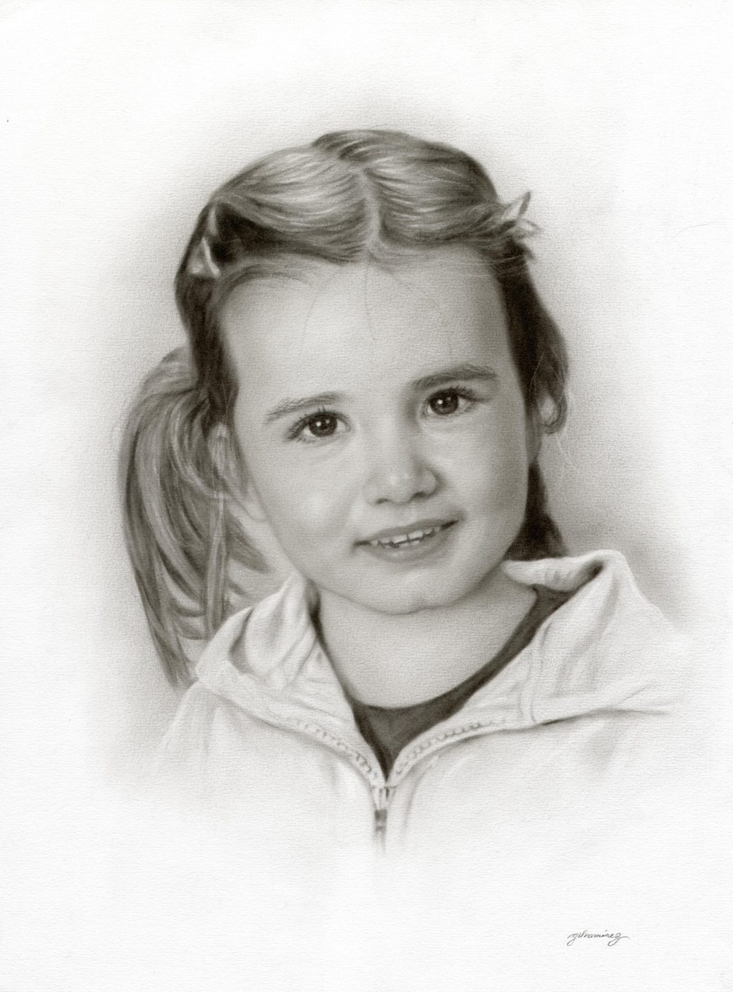 hi-res-scan-of-a-girl Stunningly And Incredibly Realistic Pencil Portraits