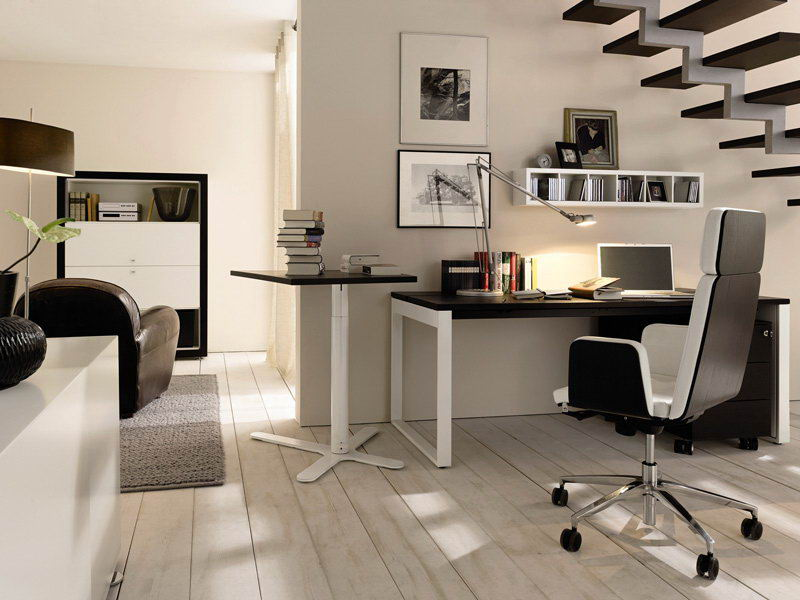 home-office-writing-desk-furniture-decor The Most Inspiring Office Decoration Designs