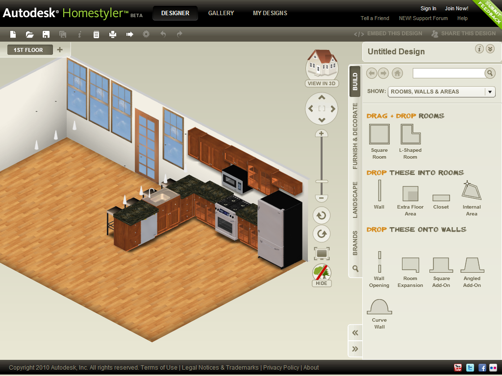 homestyler Top 15 Virtual Room software tools and Programs