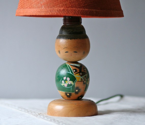 il_570xN.233291341 Bring Good Luck With Kokeshi Lamps!