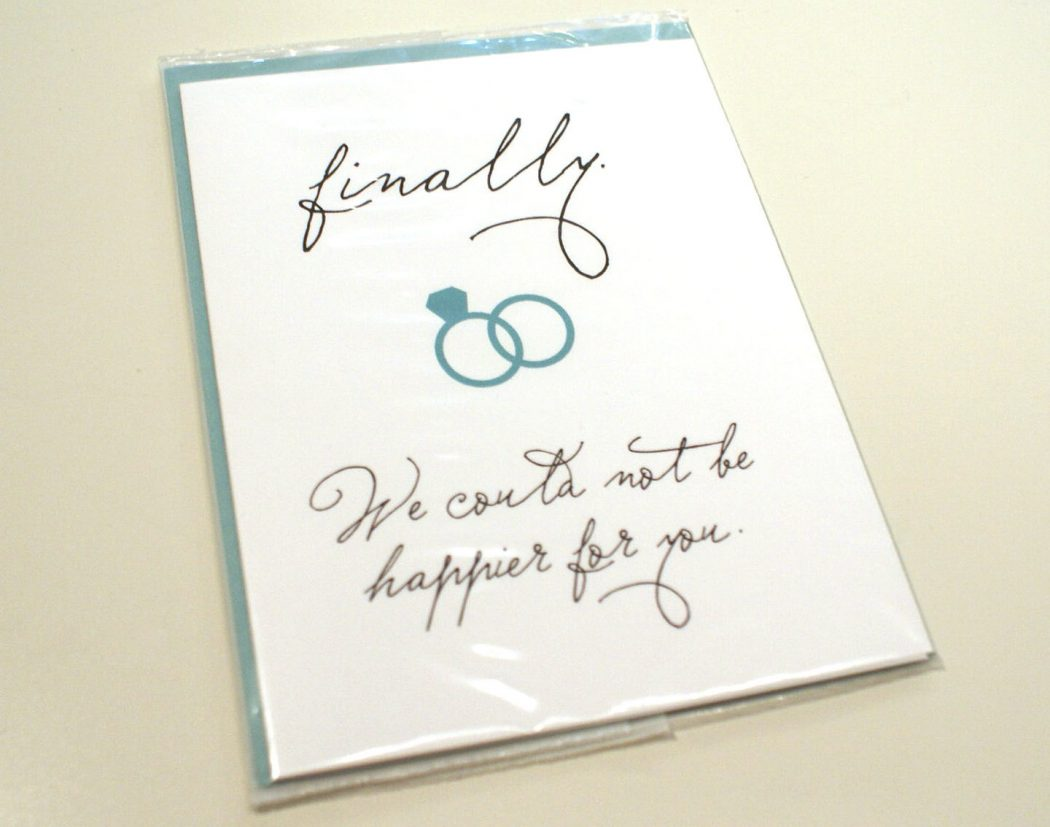 Wedding Greeting Cards is a Unique Gift To The Newlyweds Pouted ...