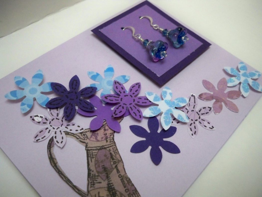 Handmade greeting cards for an extra special person for Eid decorations to make at home