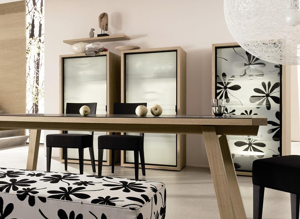 impressive-delightful-dining-room-furniture 25 Elegant Black And White Dining Room Designs