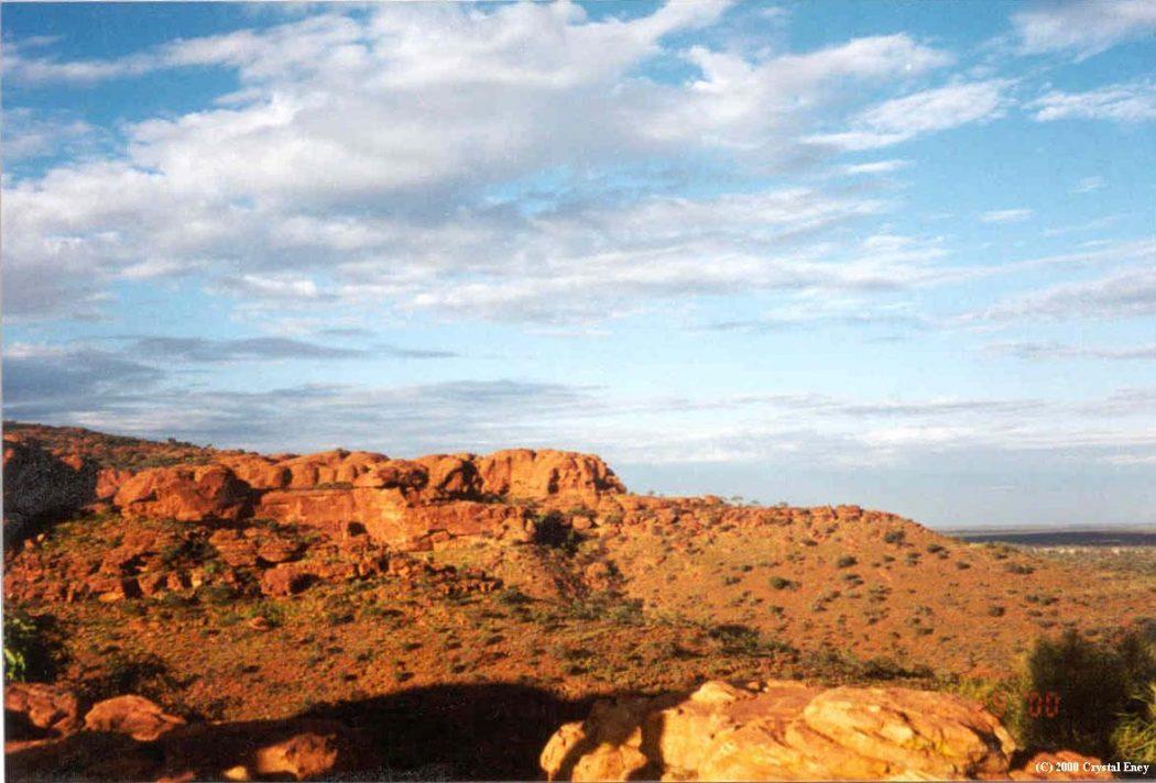 kings_canyon_Australia Best 7 Solar System Project Ideas