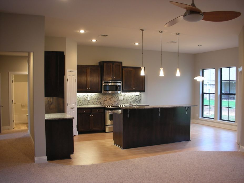 kitchen-design-with-three-lighting-927x695 The Best Designs Of Kitchen Lighting
