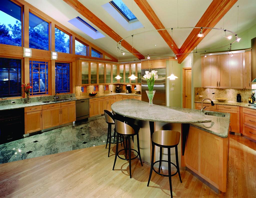 kitchen-led-lighting-decoration LEDs 10 uses in Architecture