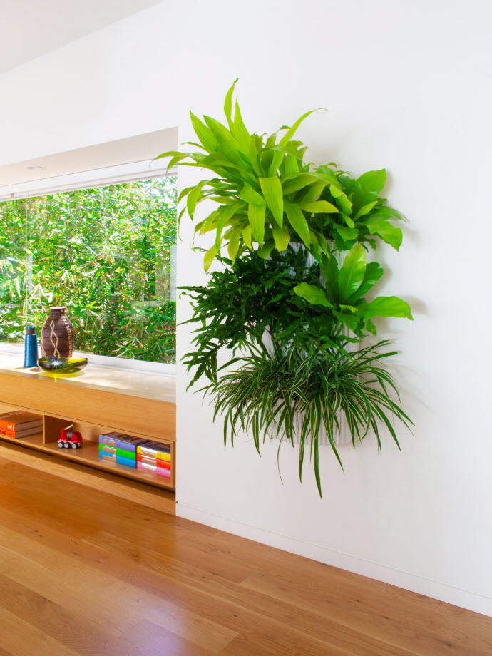 living-wall-planter-indoor-lowres 10 Fascinating and Unique Ideas for Portable Gardens