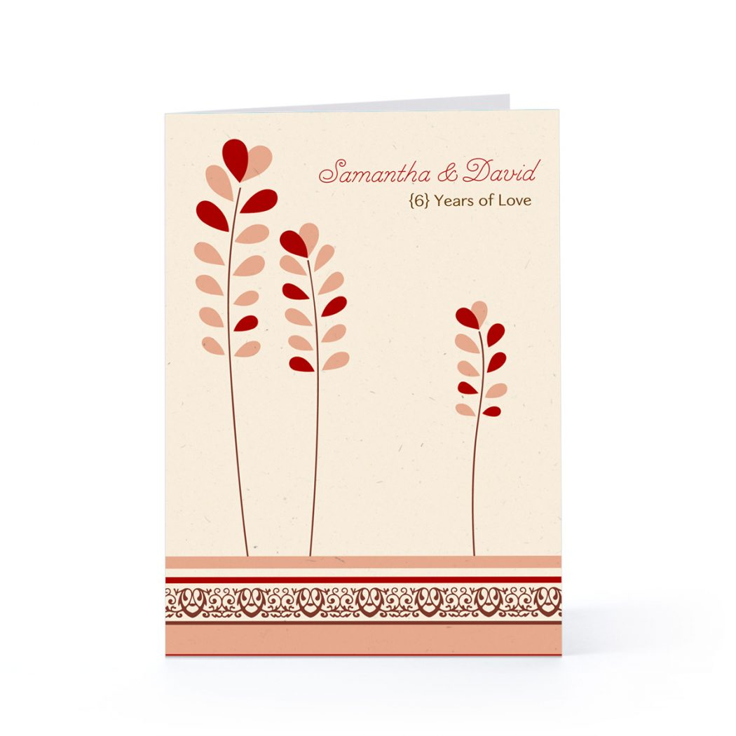 Anniversary Greeting Cards For Your Lover Parents Or
