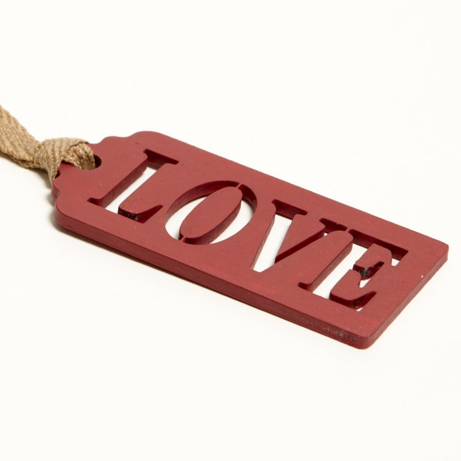 love-wooden-gift-tag-rectory-red-no-217 10 Most Unique and Amazing Gift Tags