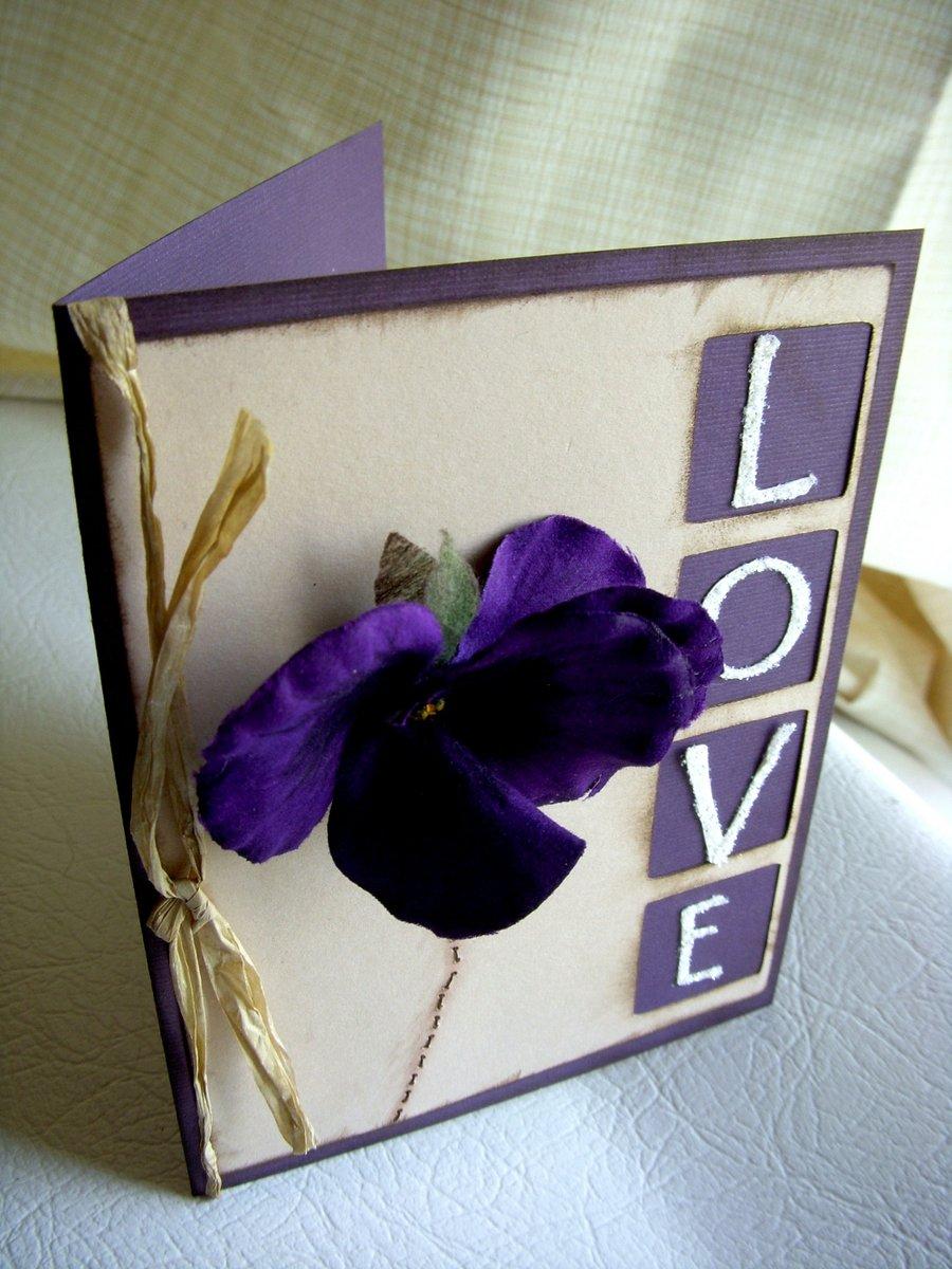 Handmade Love Greeting Card Designs