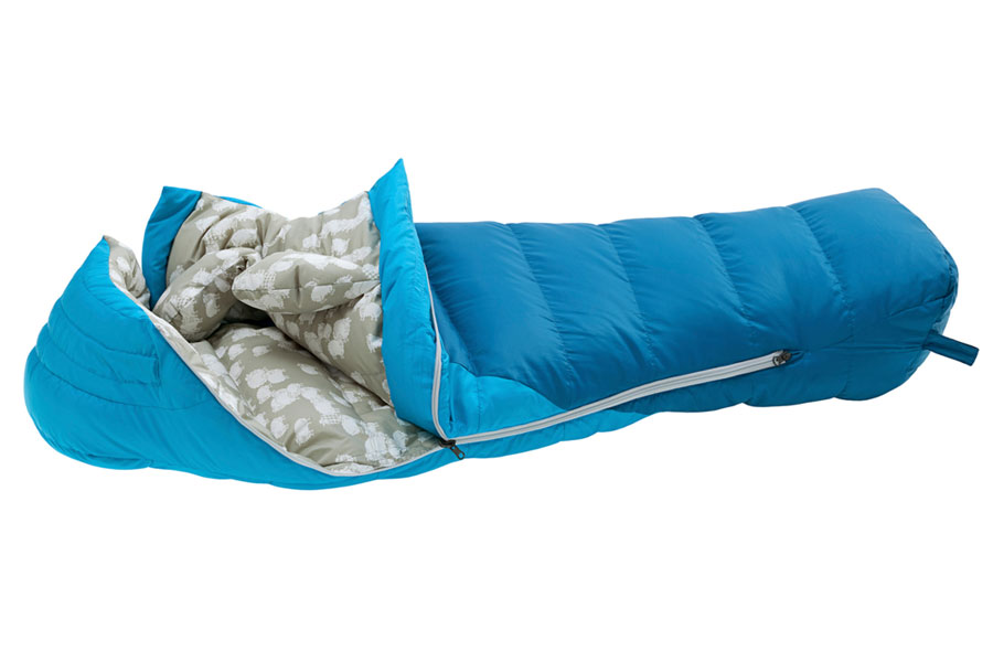 explorer down_sleeping bag kids angle