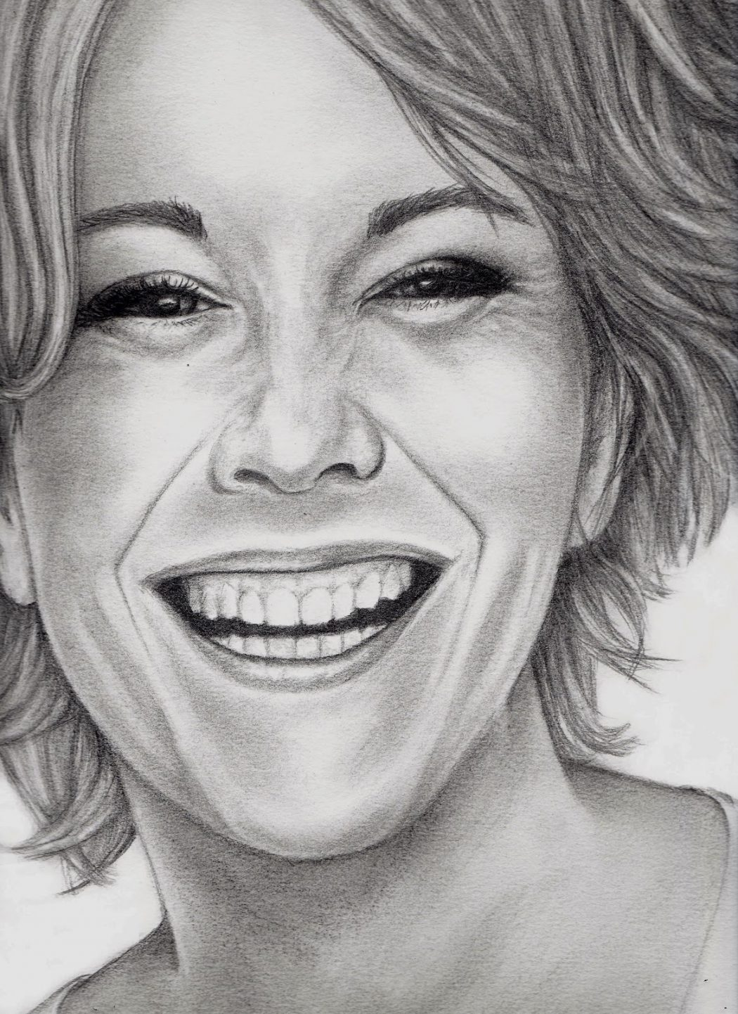 meg2 Stunningly And Incredibly Realistic Pencil Portraits