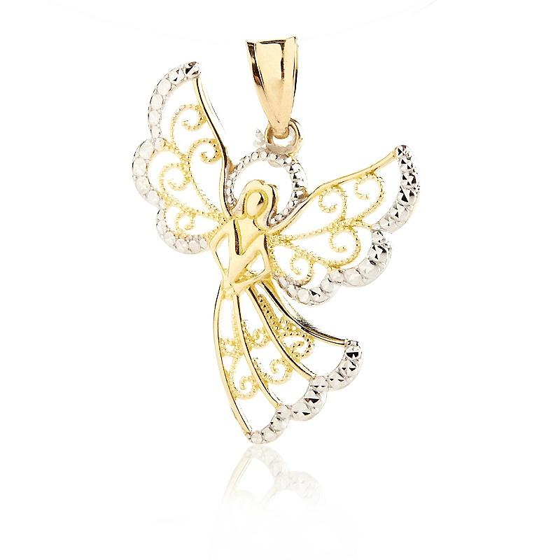 michael-anthony-jewelry-10k-2-tone-inspiration-pendant-d-20121129120719927223794 Best 30 Inspiring Jewelry Designs