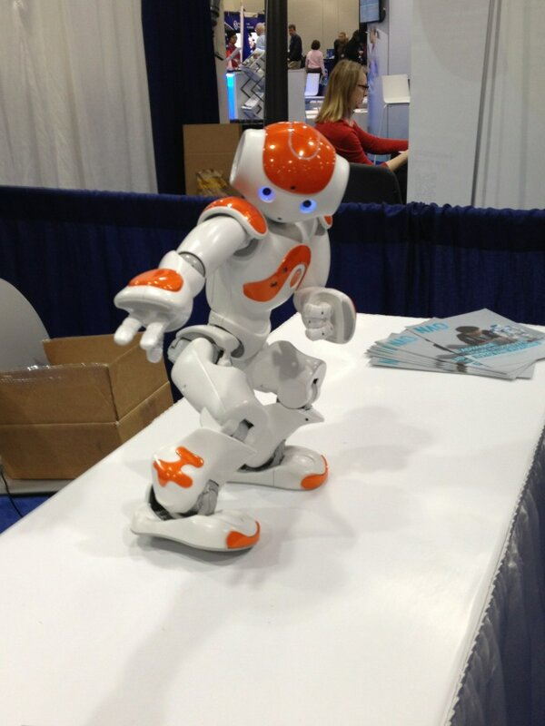 nao. Are you stressed? Watch these Robots Dancing Gangnam Style