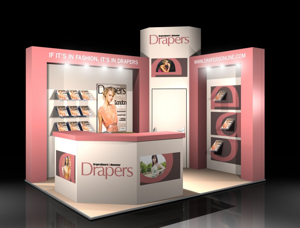 new-drapers-visual Visual Marketing and Business Promotion Through Exhibition Designs