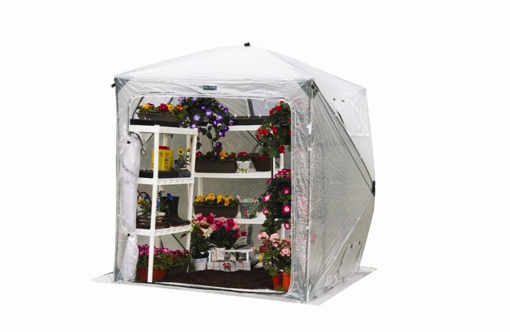 orchidhouse-portable-greenhouse- 10 Fascinating and Unique Ideas for Portable Gardens