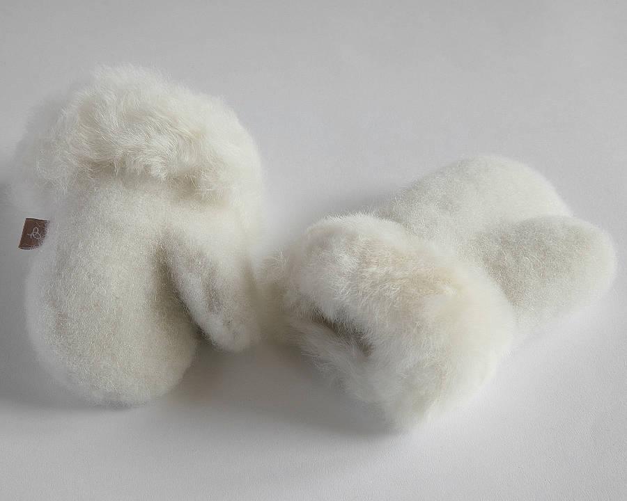 original_alpaca-fur-mittens-for-children Best 25 Baby Shower Gifts
