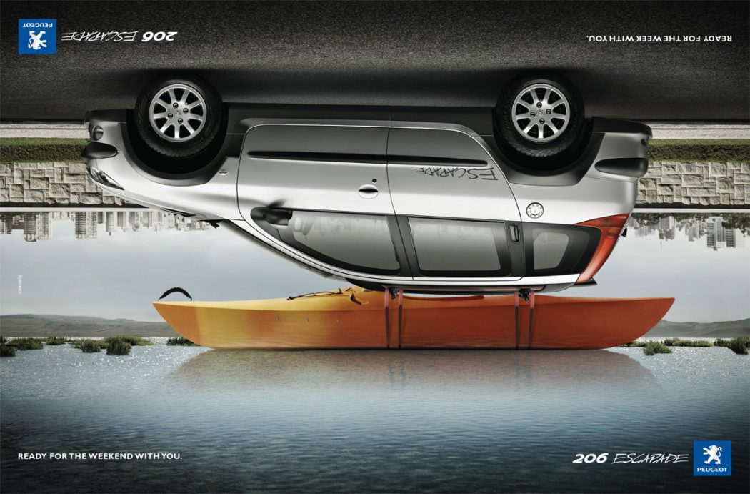 peugeot-20-20foto-20ads 40 Most Creative and Dazzling Auto Ads