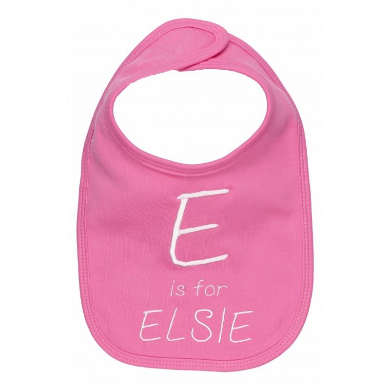pink-alphabet-bib2x- Best 25 Baby Shower Gifts