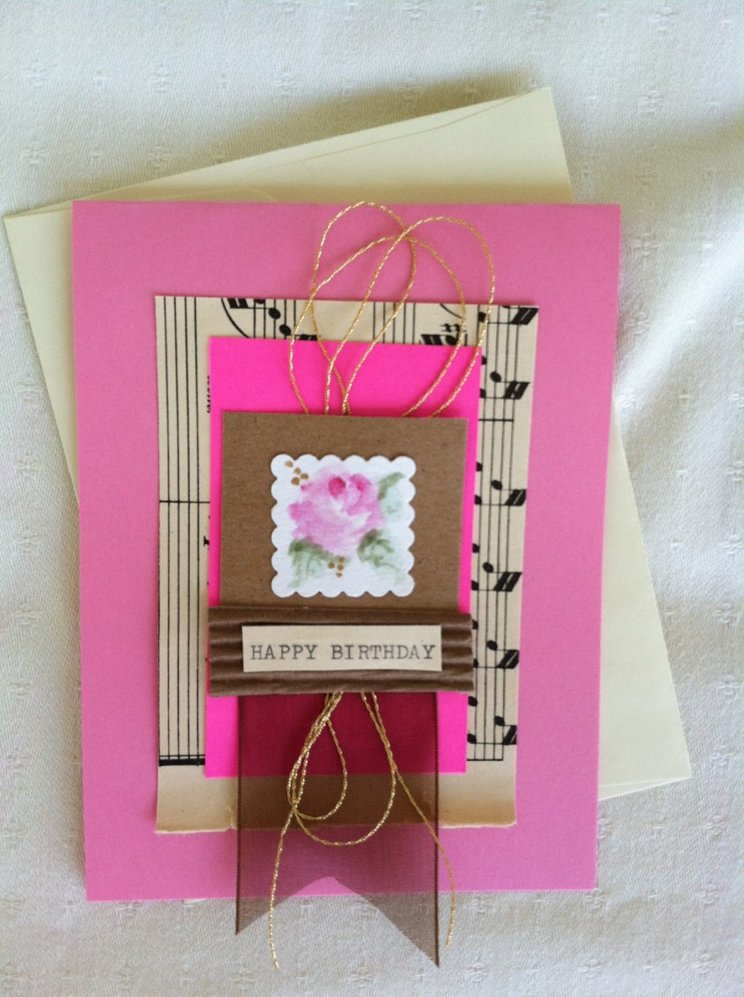 Pink Birthday Card Handmade Greeting Cards For An Extra Special Person