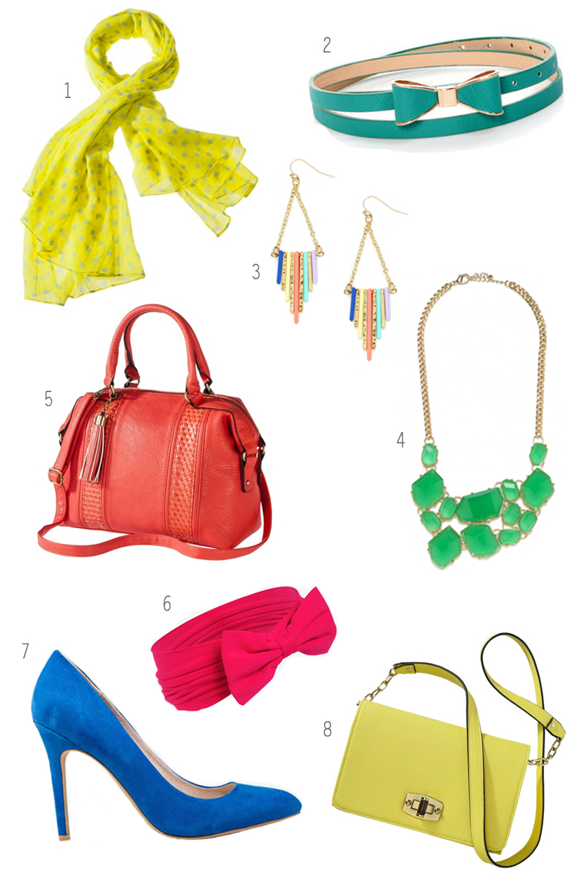 popofcoloraccessories 25+ Latest Celebrity Accessories Trends for 2020