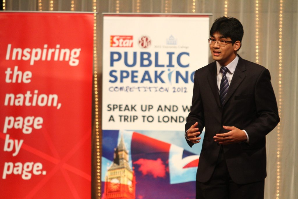public_speaking BEST 5 Competitions in 2013