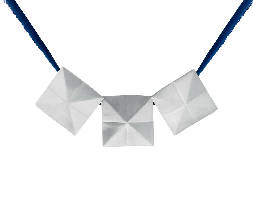 pyramids-NECKLACE 15 Most Stylish Architectural Jewelry