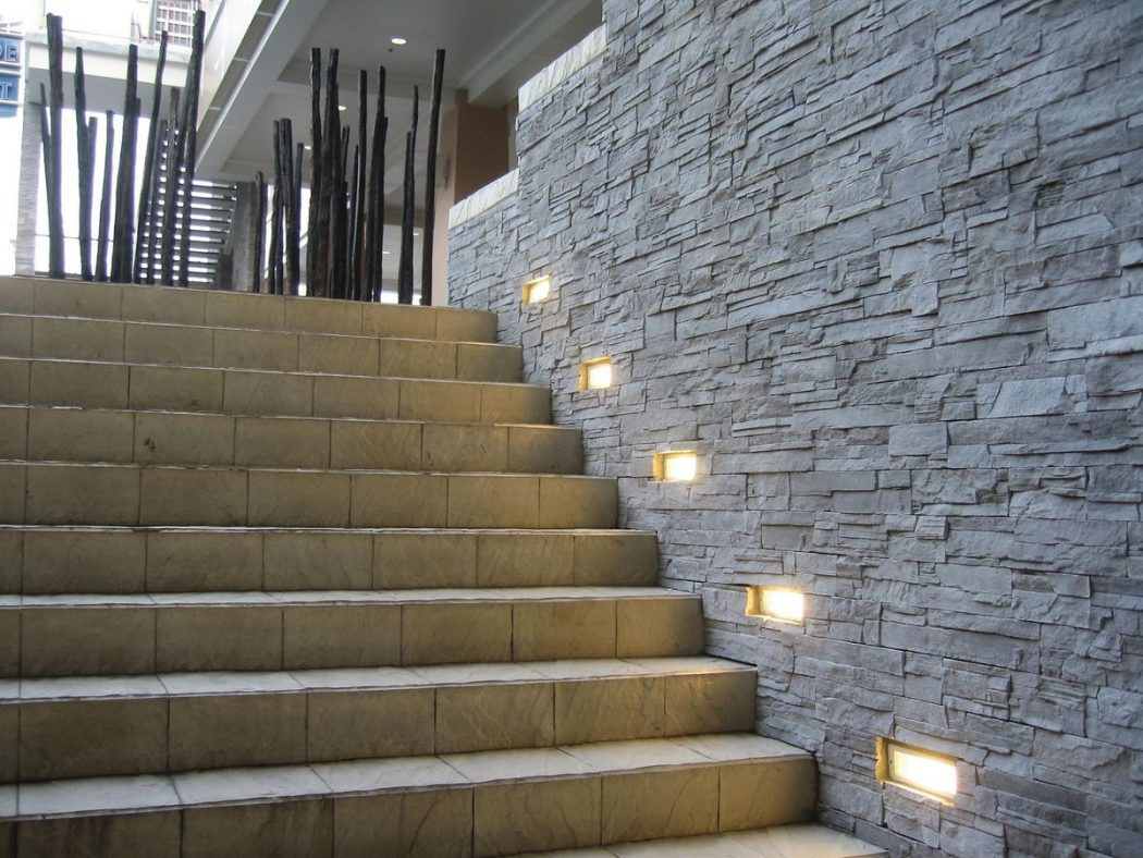 recessed-exterior-wall-light-10967-1781413 LEDs 10 uses in Architecture