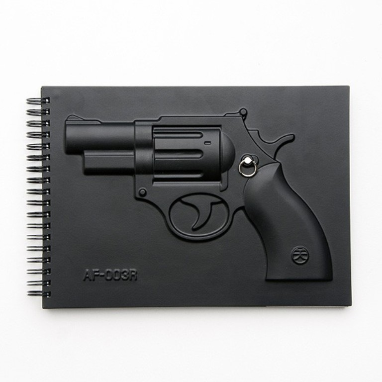 revolver01_web Creative and Unique Notebooks for Mitigating Your Anger