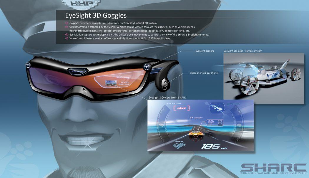 sharc-subaru-highway-automated-response-concept-large4 15 Futuristic Emergency Auto Design Ideas