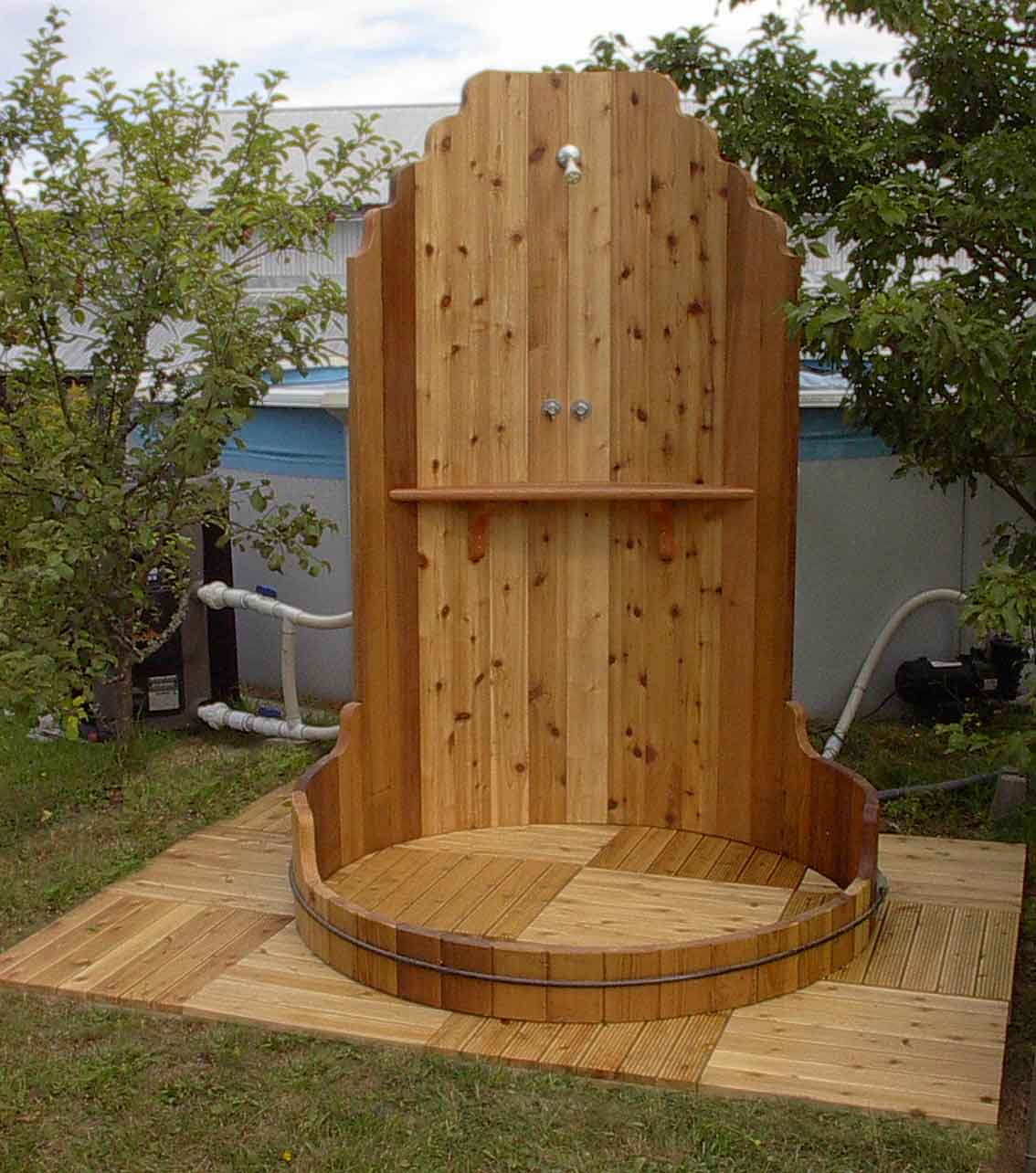 shower Outdoor Showers Can Make You Feel Cool In The Hot Summer